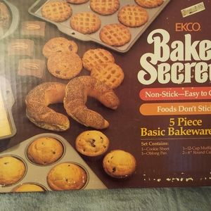 Bakers Secret 5 pc. Bakeware set
